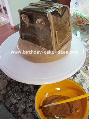 purse shaped cake pictures