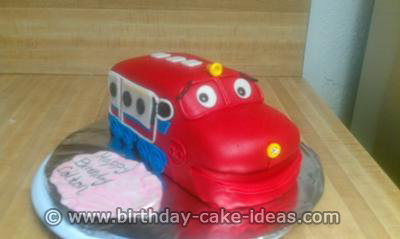 chuggington cake, chuggington birthday cake