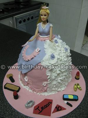 princess birthday cakes